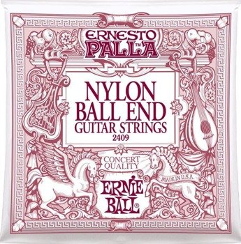 struny do gitary klasycznej ERNIE BALL ERNESTO PALLA Ball End, Normal Tension EB2409 /028-042/