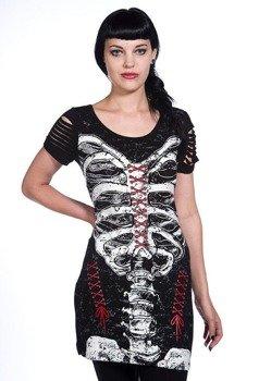 sukienka BANNED - SKELETON