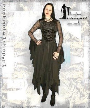 suknia CONTESSA LONG BLACK [GT322] Laughing Vampire