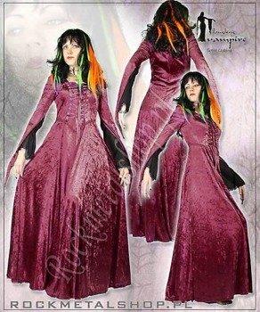 suknia SANDRA BURGUND [GT320] Laughing Vampire
