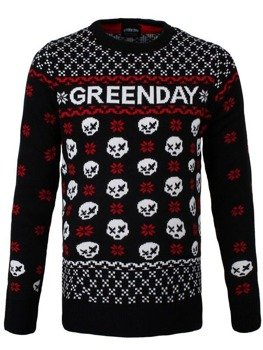 sweter GREEN DAY - SKULL
