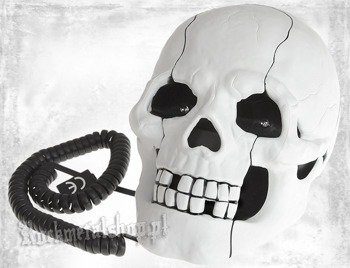 telefon ROCK DADDY - SKULL SHAPE WHITE (92004-006)