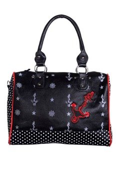 torba BANNED - ANCHOR POLKA DOT
