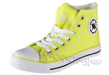trampki NEW AGE - NEON GREEN (082)