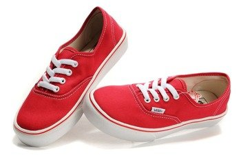 trampki VANS - AUTHENTIC RED