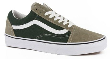 trampki VANS - OLD SKOOL VINTAGE DEEP FOREST ALU
