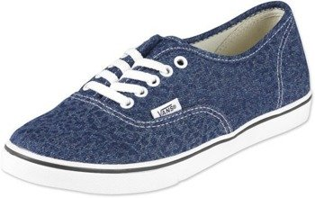 trampki damskie VANS  - AUTHENTIC LO PRO CHEETAH DARK DENIM