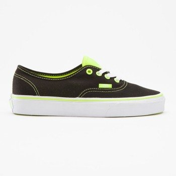 trampki damskie VANS - AUTHENTIC NEON POP BLACK NEON YELLOW