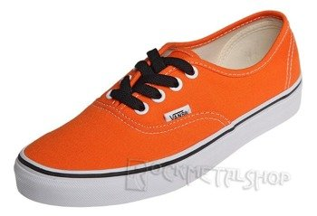 trampki damskie VANS - AUTHENTIC PERSIMMON ORANGE TRUE WHITE