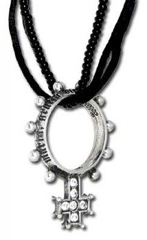 wisior SINGLE DECADE RING ROSARY