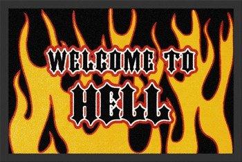 wycieraczka WELCOME TO HELL