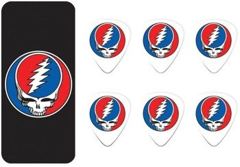 zestaw kostek GRATEFUL DEAD - STEAL YOUR FACE BLACK (GDPT03M)