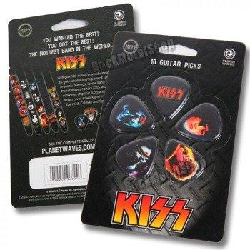zestaw kostek KISS - ALIVE II (10 szt)