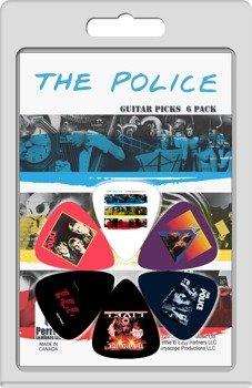 zestaw kostek THE POLICE LP-POL1 (6 szt)