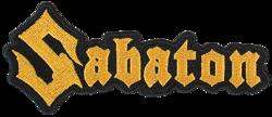 naszywka SABATON - LOGO