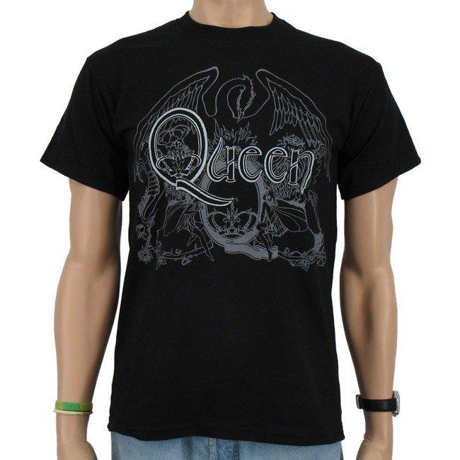 Ładowanie zdjęcia koszulka QUEEN - CREST LOGO
