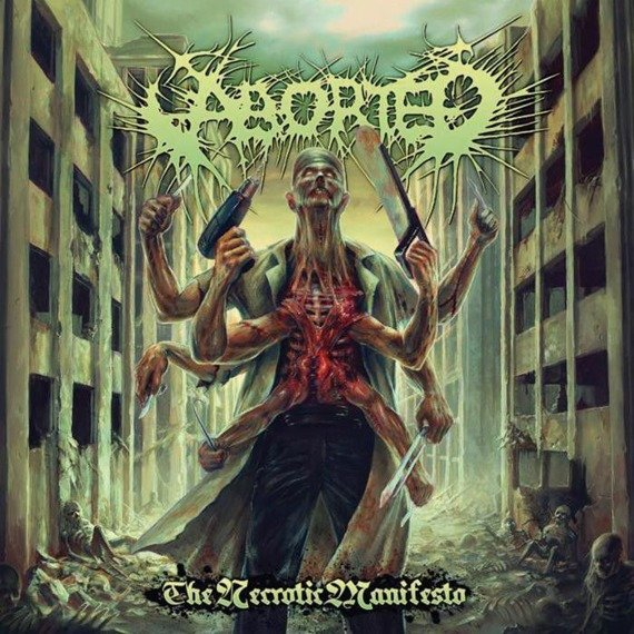 ABORTED: THE NECROTIC MANIFESTO (CD)