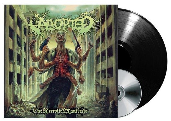 ABORTED: THE NECROTIC MANIFESTO (LP VINYL+CD)