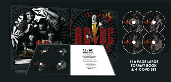 AC/DC: DIRTY DEEDS (BOOK + 4DVD)
