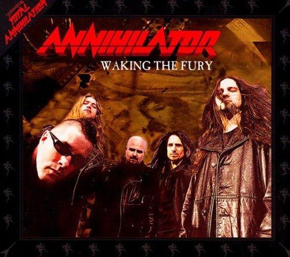 ANNIHILATOR: WAKING THE FURY (CD)