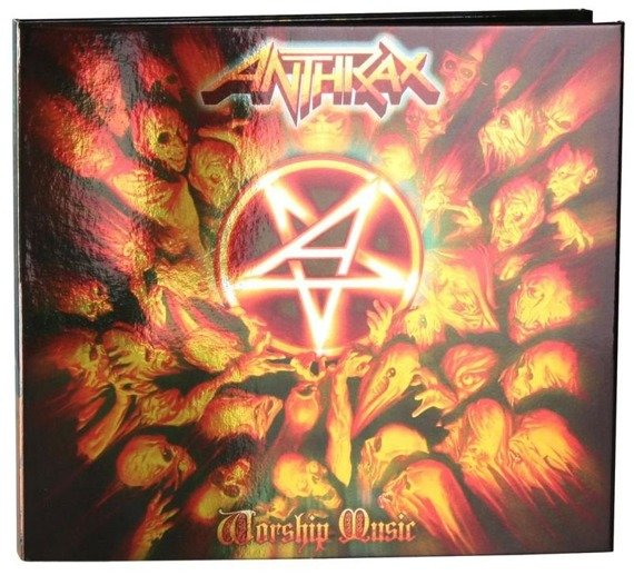 ANTHRAX: WORSHIP MUSIC (CD DIGIPACK)