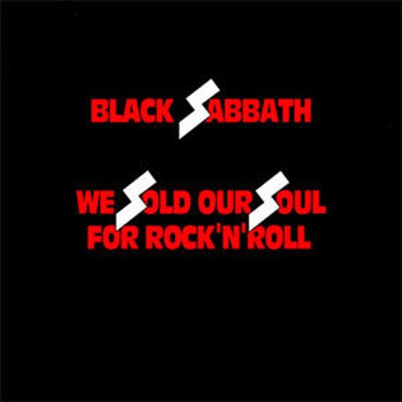 BLACK SABBATH: WE SOLD OUR SOUL FOR ROCK'N'ROLL (2CD)