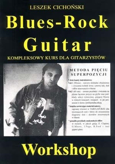 Blues Rock Guitar Leszek Cichoński