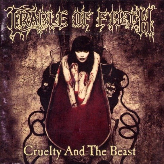 CRADLE OF FILTH : CRUELTY AND THE BEAST (CD)