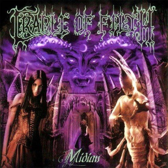 CRADLE OF FILTH : MIDIAN (CD)