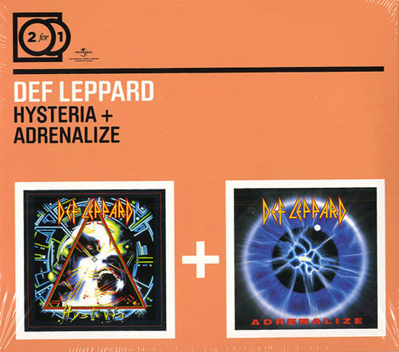 DEF LEPPARD: HYSTERIA+ANDRENALIZE (2CD)