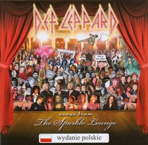 DEF LEPPARD: SONGS FROM THE SPARKLE LOUNGE (CD)