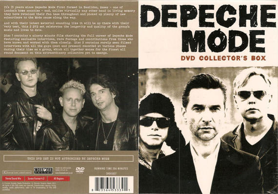 DEPECHE MODE: DVD COLLECTOR'S BOX (2DVD)