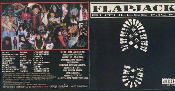 FLAPJACK: RUTHLESS KICK (CD)