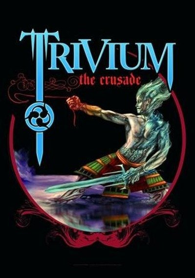 Flaga TRIVIUM - THE CRUSADE