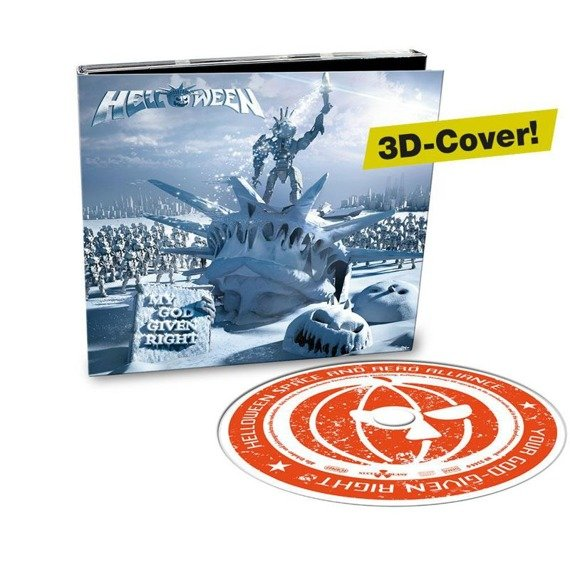 HELLOWEEN: MY GOD GIVEN RIGHT (CD) LIMITED