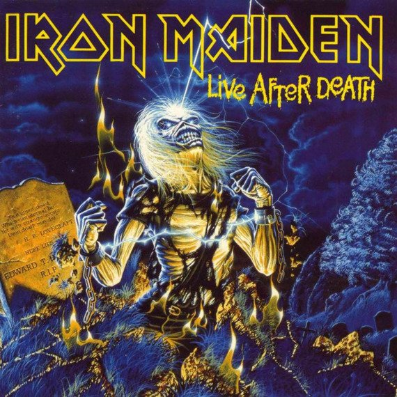 IRON MAIDEN: LIFE AFTER DEATH (2LP VINYL)