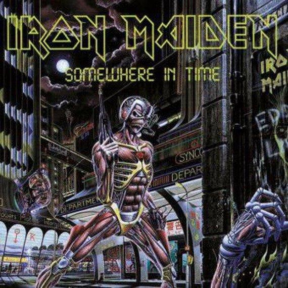IRON MAIDEN: SOMEWHERE IN TIME (LP VINYL)