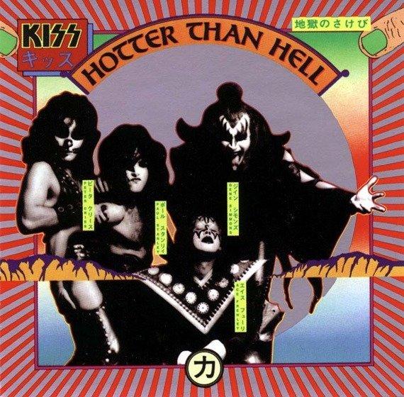 KISS: HOTTER THAN HELL (WERSJA ZREMASTEROWANA) (CD)