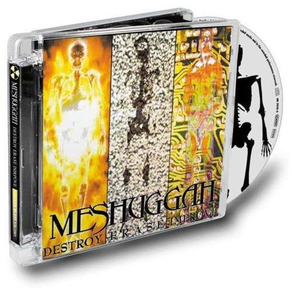 MESHUGGAH: DESTROY ERASE IMPROVE (CD)