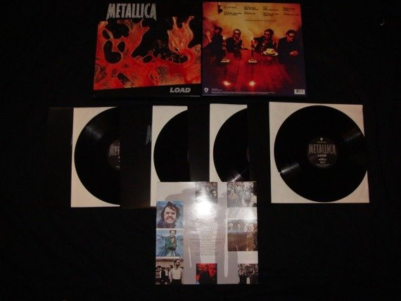 METALLICA: LOAD (4LP VINYL)