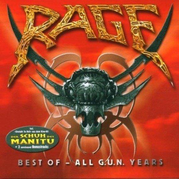 RAGE : BEST OF ALL G.U.N. YEARS (CD)