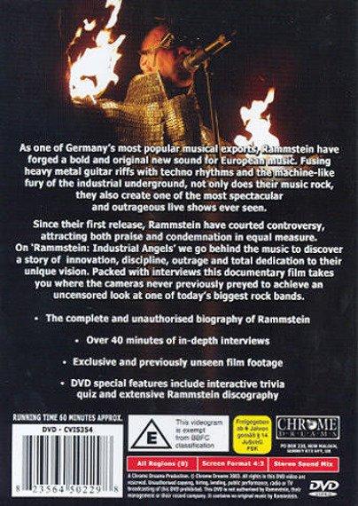 RAMMSTEIN: INDUSTRIAL ANGELS (DVD)