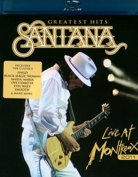 SANTANA: LIVE AT MONTREUX 2011 (BLU-RAY)