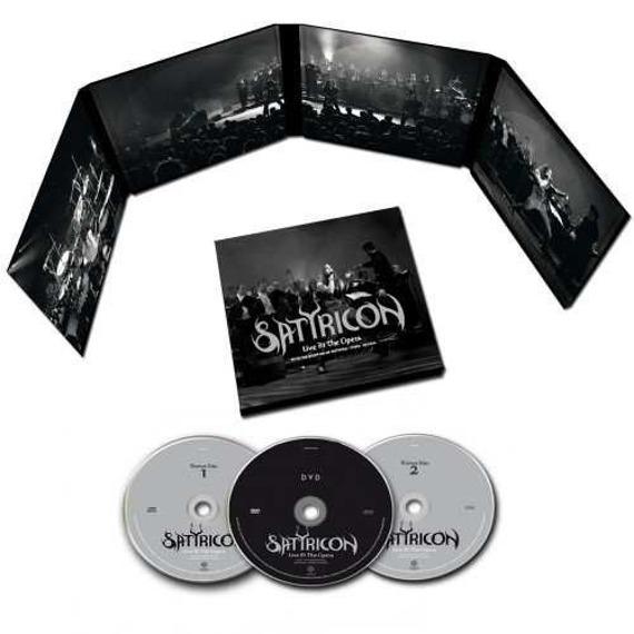 SATYRICON: SATYRICON LIVE AT THE OPERA (2CD+DVD)