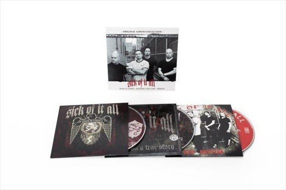 SICK OF IT ALL: ORIGINAL ALBUM COLLECTION (DEATH TO TYRANTS / BASED ON A TRUE STORY / NONSTOP (3CD)