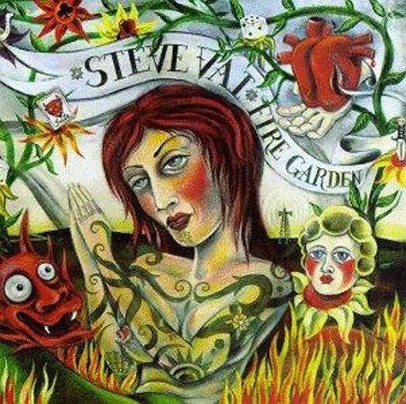 STEVE VAI : FIRE GARDEN (CD)