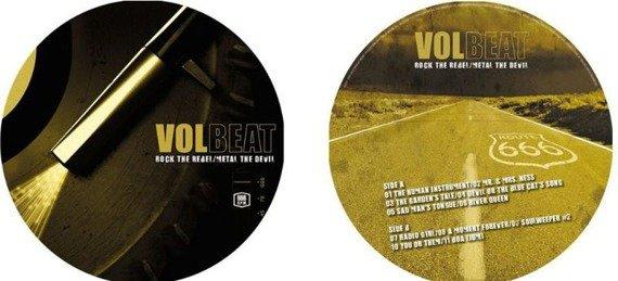 VOLBEAT: ROCK THE REBEL / METAL THE DEVIL (LP PICTURE VINYL)