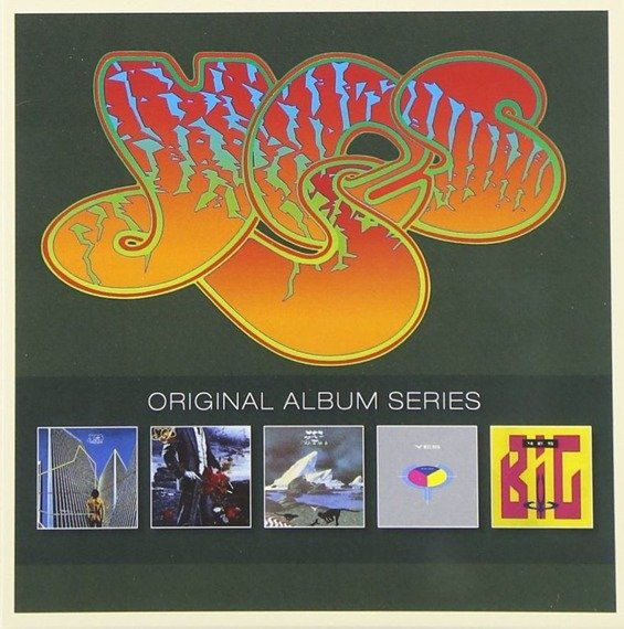 YES: ORYGINAL ALBUM SERIES (5CD)