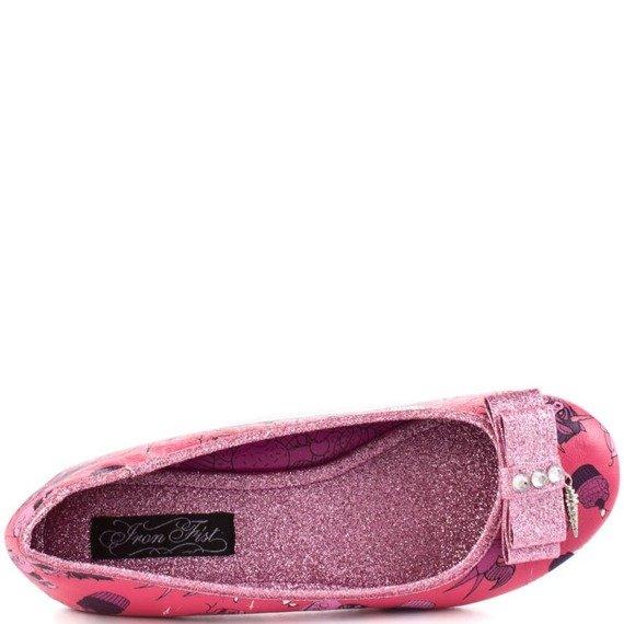 balerinki IRON FIST - DEMON DONKEY FLAT (PINK)