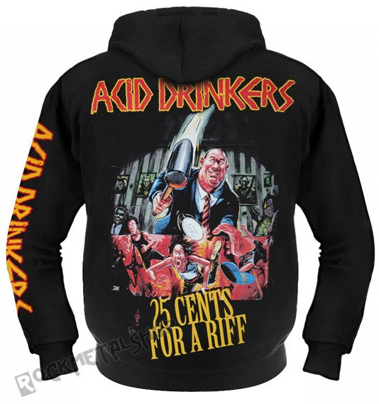 bluza ACID DRINKERS - 25 CENTS rozpinana, z kapturem
